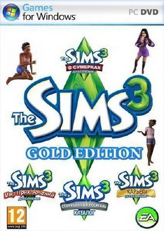 The Sims 3. Gold Edition + Store October 2013 (2009 - 2013)