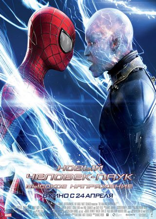 Новый Человек-паук 2: Высокое напряжение (2014) CAMRip Скачать Торрент