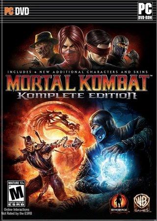 Mortal Kombat: Komplete Edition (2013) Скачать Торрент