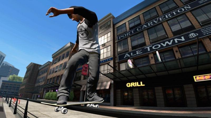 Скачать скейт 3 на пк торрент