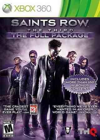 Saints Row: The Third (2011) Xbox 360 Скачать Торрент