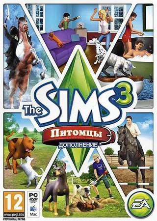 The Sims 3: Питомцы (2011) Скачать Торрент