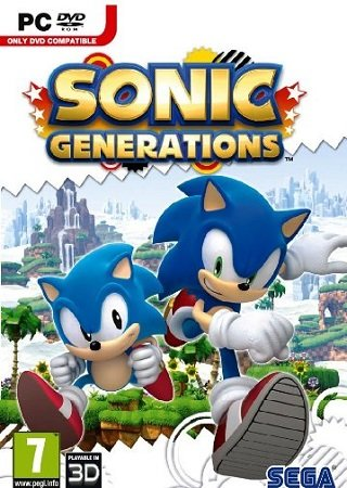 Sonic Generations v 1.0.0.5 (2011) + 1 DLC Скачать Торрент