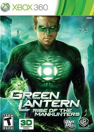 Green Lantern: Rise of the Manhunters (2011) Xbox Скачать Торрент