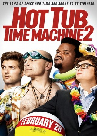 Машина времени в джакузи 2 (2015) HDRip