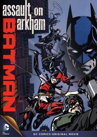 Бэтмен: Нападение на Аркхэм (2014) HDRip Скачать Торрент