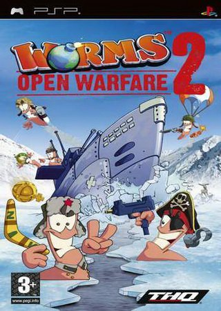 Worms Open Warfire 2 (2007) PSP RePack Скачать Торрент