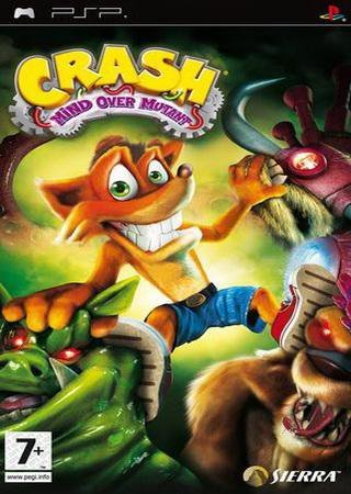 Crash Mind Over Mutant (2008) PSP