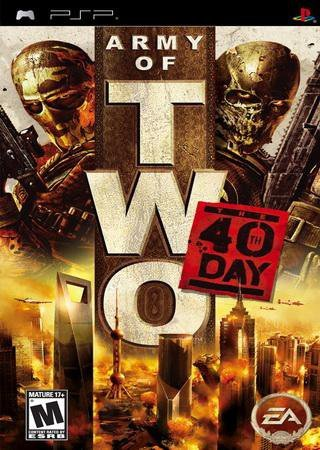 Army of TWO: The 40th Day (2010) PSP Скачать Торрент