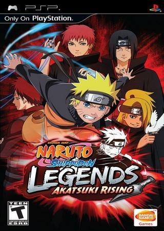 Naruto Shippuden: Legends Akatsuki Rising (2009) PSP Скачать Торрент