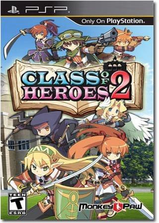 Class of Heroes 2 (2013) PSP Скачать Торрент