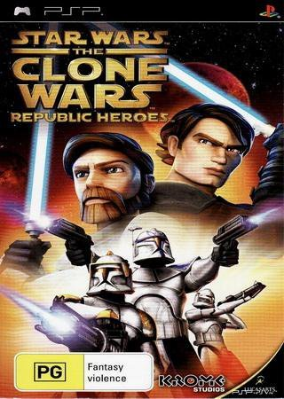 Star Wars: The Clone Wars - Republic Heroes (2013) PSP Скачать Торрент