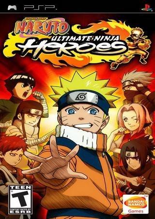 Naruto: Ultimate Ninja Heroes (2008) PSP Скачать Торрент