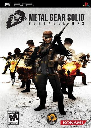 Metal Gear Solid: Portable Ops (2006) PSP Скачать Торрент