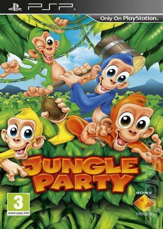Buzz! Junior: Jungle Party (2010) PSP Скачать Торрент
