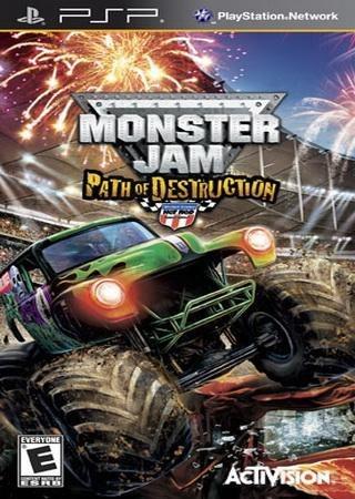 Monster Jam: Path of Destruction (2010) PSP Скачать Торрент