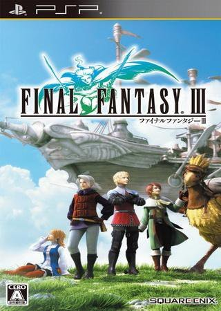 Final Fantasy III (2012) PSP RePack Скачать Торрент