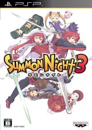 Summon Night 3 (2012) PSP Скачать Торрент