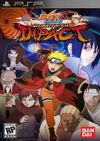 Naruto Shippuuden: Ultimate Ninja Impact (2011) PSP Скачать Торрент