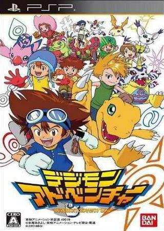 Digimon Adventure (2013) PSP Скачать Торрент
