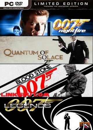 James Bond 007 - Anthology (2002-2012) RePack от R.G. Механики