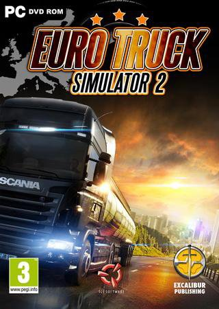 Euro Truck Simulator 2 [v 1.21.1s + 28 DLC] (2013) Repack от SpaceINC Скачать Торрент