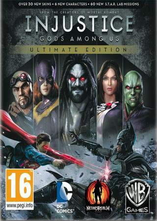 Injustice: Gods Among Us. Ultimate Edition [Update 5] (2013) RePack от R.G. Механики