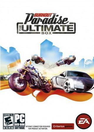 Burnout Paradise: The Ultimate Box (2009) RePack от R.G ... Скачать Торрент