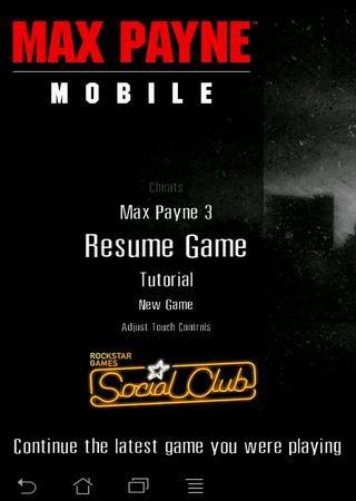 Max Payne Mobile [v1.2] (2013) Android Скачать Торрент