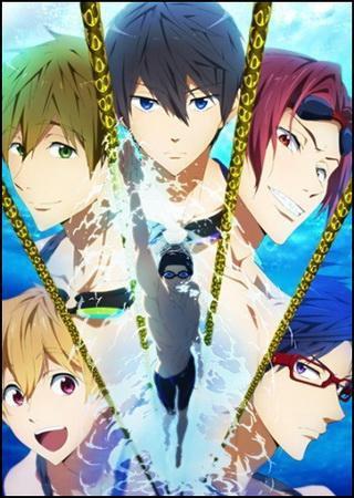 Free! - Плавательный клуб старшей школы Иватоби (1 сезо ... Скачать Торрент