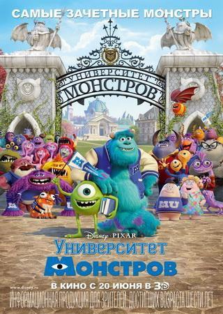Университет монстров (2013) HDRip