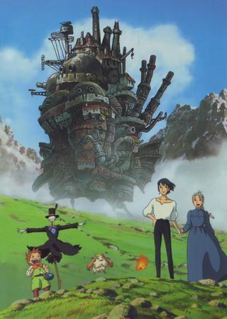 Ходячий замок Хаула (2004) BDRip